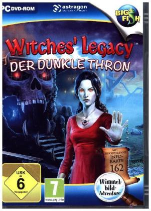 Witches Legacy: Der dunkle Thron, 1 DVD-ROM | Dodax.co.uk
