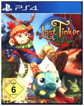 Best of The Last Tinker, City of Colors, 1 PS4-Blu-ray Disc | Dodax.de