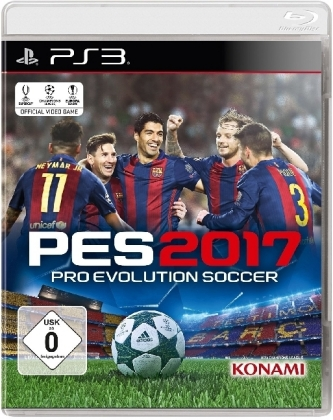 PES 2017, Pro Evolution Soccer, PS3-Blu-ray Disc | Dodax.fr