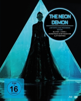 The Neon Demon, 1 Blu-ray u. 2 DVDs u. 1 Audio-CD (Mediabook) | Dodax.at