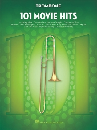 101 Movie Hits For Trombone | Dodax.ch