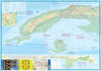 International Travel Map ITM Cuba West | Dodax.ch