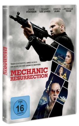 The Mechanic: Resurrection, 1 DVD | Dodax.ch