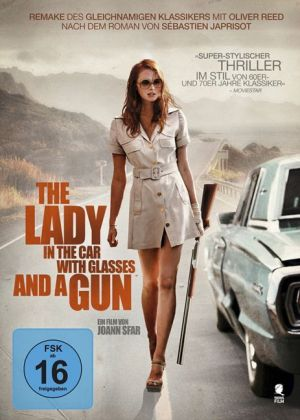 The Lady in the Car with Glasses and a Gun, 1 DVD | Dodax.de
