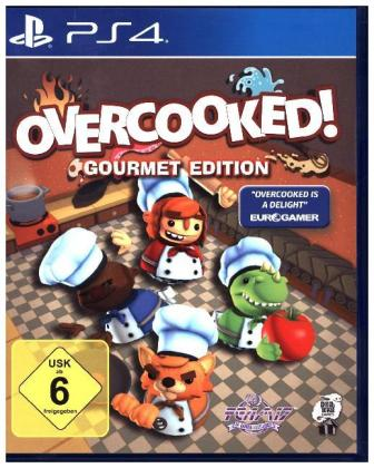 Overcooked!, 1 PS4-Blu-ray Disc (Gourmet Edition) | Dodax.at