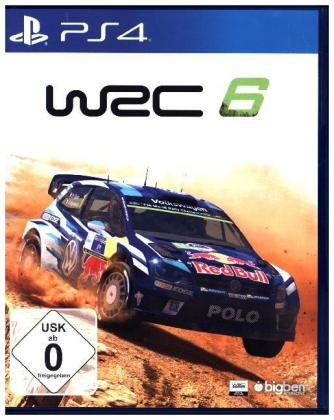WRC 6, World Rally Championship, 1 PS4-Blu-ray Disc | Dodax.nl