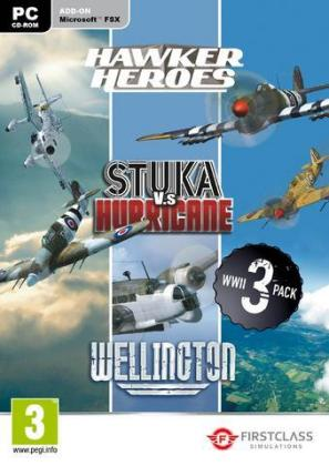 WWII Collection, Hawker, Stuka, Wellington, 1 DVD-ROM | Dodax.ch