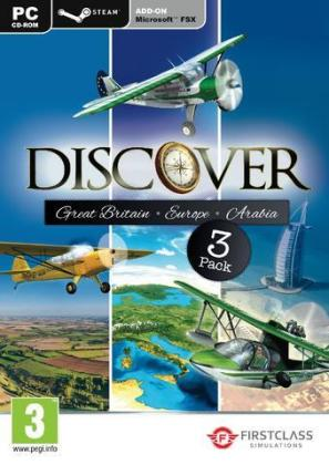 Discover Series, Great Britain & Europe & Arabia, 1 DVD-ROM | Dodax.pl