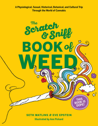 Scratch & Sniff Book of Weed | Dodax.ch