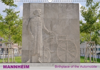 Mannheim - City of the First Automobile in the World (Wall Calendar 2017 DIN A3 Landscape) | Dodax.ch