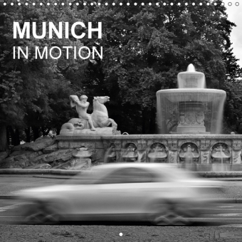 Munich in Motion (Wall Calendar 2017 300 × 300 mm Square) | Dodax.at