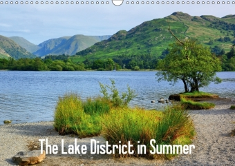 The Lake District in Summer / UK-Version (Wall Calendar 2017 DIN A3 Landscape) | Dodax.at