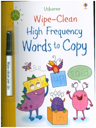 Wipe-Clean High-Frequency Words to copy | Dodax.de