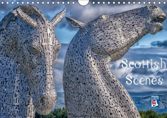 Scottish Scenes (Wall Calendar 2017 DIN A4 Landscape) | Dodax.at