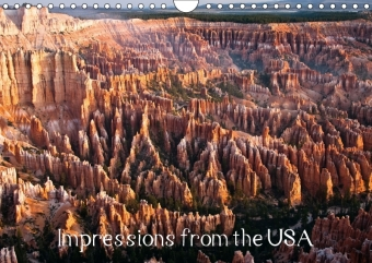 Impressions from the USA / UK-Version (Wall Calendar 2017 DIN A4 Landscape) | Dodax.at