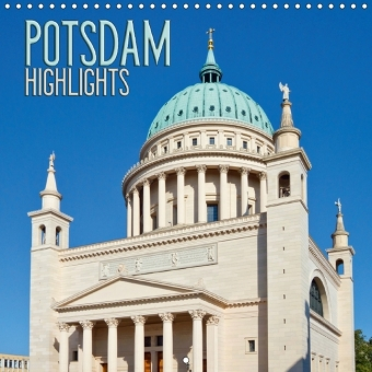 POTSDAM Highlights (Wall Calendar 2017 300 × 300 mm Square) | Dodax.ch