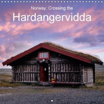 Norway: Crossing the Hardangervidda (Wall Calendar 2017 300 × 300 mm Square) | Dodax.ch