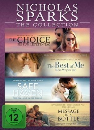 Nicholas Sparks - The Collection, 4 DVD | Dodax.de