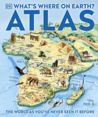 What's Where on Earth? Atlas | Dodax.ch