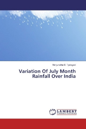 Variation Of July Month Rainfall Over India | Dodax.de