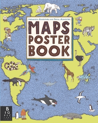 Maps Poster Book | Dodax.at