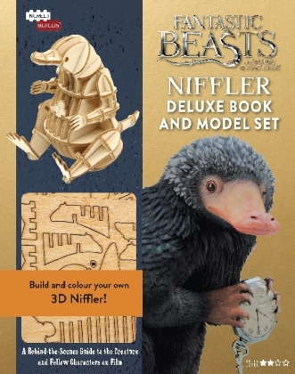 Fantastic Beasts - Niffler Deluxe Book and Model Set | Dodax.at