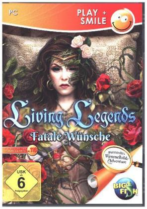 Living Legends, Fatale Wünsche, 1 DVD-ROM | Dodax.at