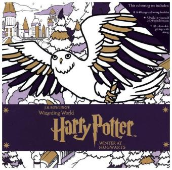 Harry Potter: Winter at Hogwarts: A Magical Colouring Set | Dodax.com