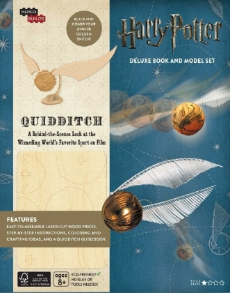 IncrediBuilds: Harry Potter: Quidditch Deluxe Book and Model Set | Dodax.at