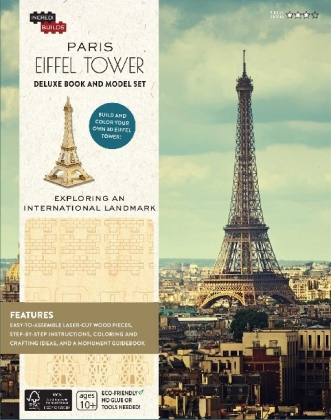 IncrediBuilds: Paris: Eiffel Tower, Deluxe Book and Model Set | Dodax.es