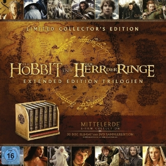 Mittelerde Collection, 30 Blu-rays (Ultimate Collectors Edition) | Dodax.at
