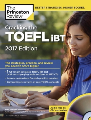 Cracking the TOEFL iBT, 2017 Edition with Audio-CD | Dodax.pl