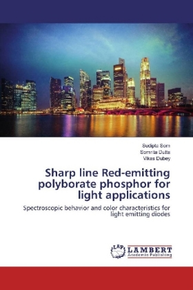 Sharp line Red-emitting polyborate phosphor for light applications | Dodax.at