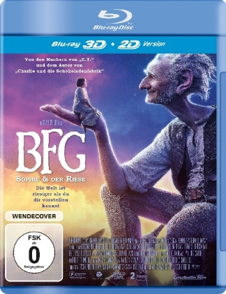 BFG - Big Friendly Giant 3D, Blu-ray | Dodax.fr