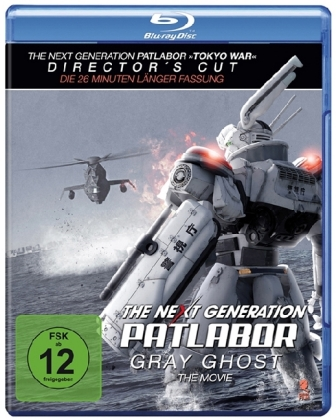 The Next Generation: Patlabor - Gray Ghost, 2 Blu-ray | Dodax.nl