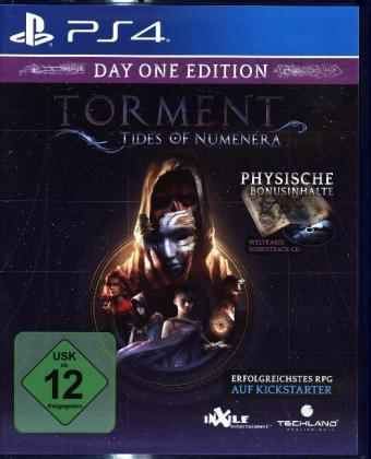 Torment, Tides of Numenera, 1 PS4-Blu-ray Disc (Day One Edition) | Dodax.fr