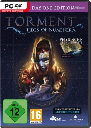 Torment, Tides of Numenera, 1 DVD-ROM (Day One Edition) | Dodax.fr