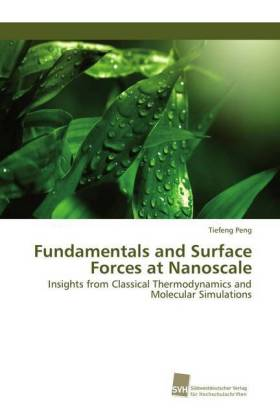 Fundamentals and Surface Forces at Nanoscale | Dodax.at