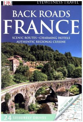 DK Eyewitness Travel Back Roads France | Dodax.fr