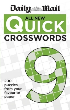Daily Mail All New Quick Crosswords 9 | Dodax.pl