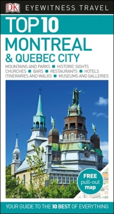 DK Eyewitness Top 10 Travel Guide Montreal & Quebec City | Dodax.at