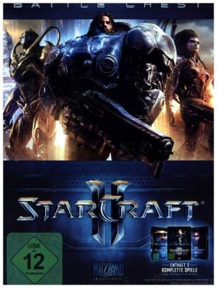 Starcraft II, Battle Chest, 1 DVD-ROM | Dodax.fr