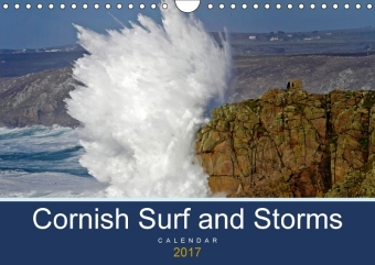 Cornish Surf and Storms (Wall Calendar 2017 DIN A4 Landscape) | Dodax.at