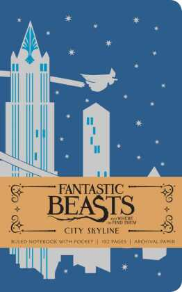 Fantastic Beasts and Where to Find Them: City Skyline Hardcover Ruled Notebook | Dodax.co.uk