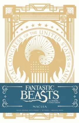 Fantastic Beasts and Where to Find them: MACUSA Hardcover Ruled Journal | Dodax.co.uk