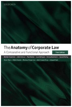 The Anatomy of Corporate Law   Dodax.at