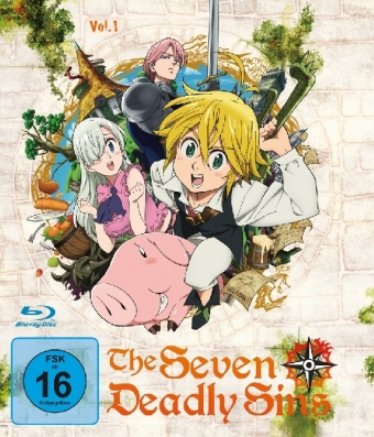 The Seven Deadly Sins, 1 Blu-ray. Tl.1 | Dodax.at