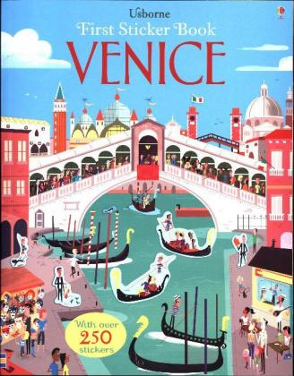 Usborne First Sticker Book Venice | Dodax.fr