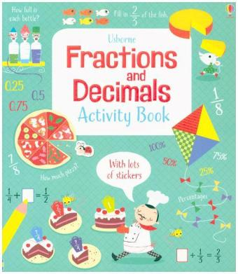 Fractions and Decimals Activity Book | Dodax.de