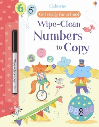 Wipe-clean Numbers to Copy | Dodax.ch